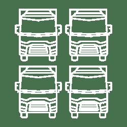 Emelőhátfalas tehergépkocsik